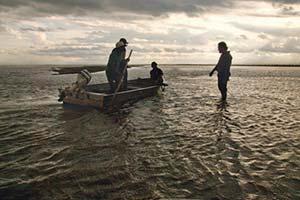 """""""Travesía Bermeja"""": mil kilómetros navegando el río Bermejo (junio de 2013) con la fundación ProYungas, coordinadora del proyecto de conservación del Gran Chaco financiado por el Fondo Francés para el Medio Ambiente Mundial (FFEM). Foto Ossian Lindholm/ProYungas"""