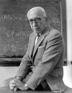 Alberto P Calderón (1920-1998), uno de los matemáticos más importantes del siglo XX.