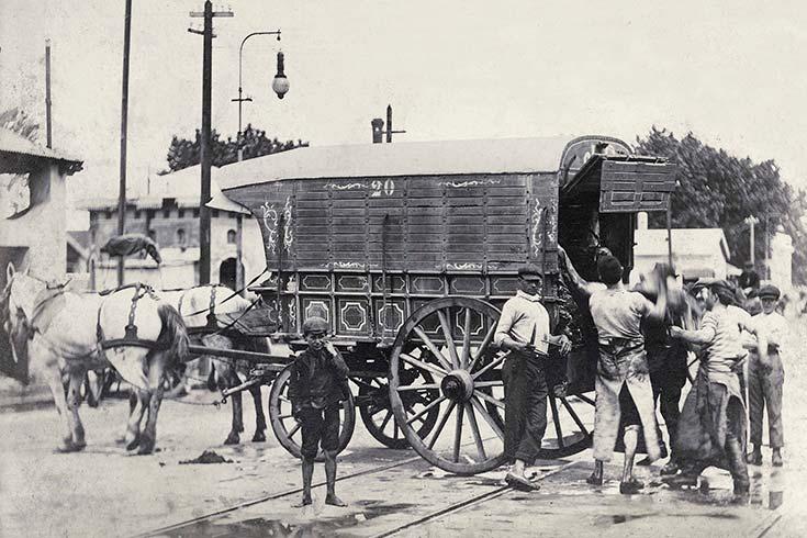 Los antiguos mataderos de Buenos Aires