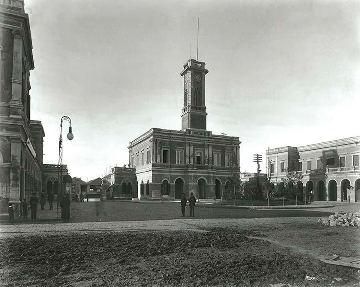 Mataderos de Liniers. Foto HG Olds, ca. 1901. Col. EdeA.