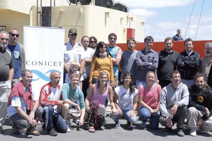 Con más de 50 investigadores zarpó el Buque Oceanográfico Puerto Deseado
