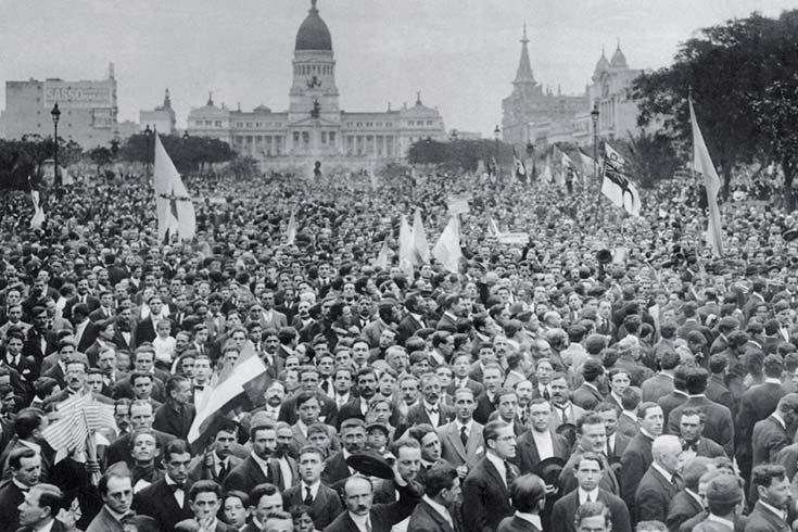 Una sociedad movilizada: la Argentina y la Primera Guerra Mundial
