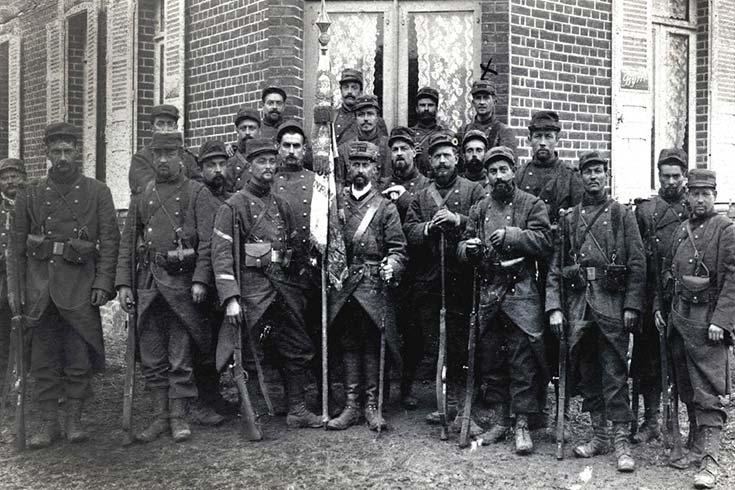 Convocados y voluntarios de la Argentina en la Gran Guerra