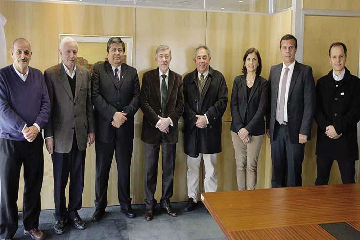 El Dr. Ceccatto se reunió con autoridades  del CONFEDI y de la CONEAU