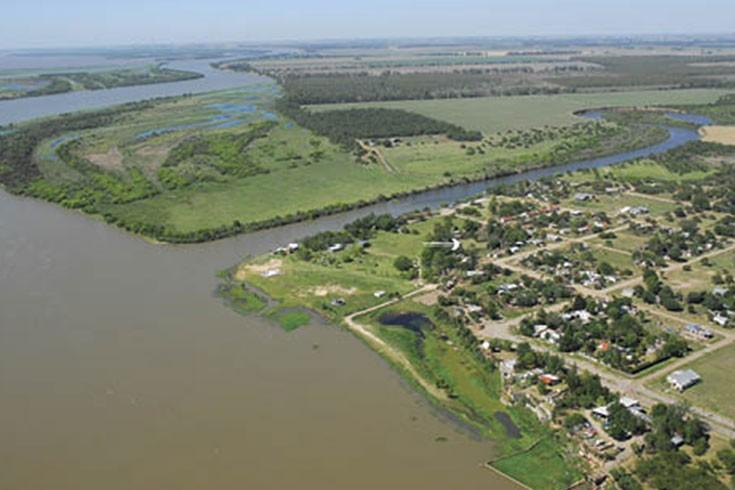 El-fuerte-Sancti-Spiritus,-el-primer-asentamiento-europeo-en-el-actual-territorio-argentino