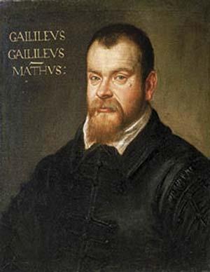 Un retrato inusual de Galileo Galilei (1564-1642), que lo muestra como un hombre joven. La mayoría de los retratos conservados corresponden a su vejez, época en la que había alcanzado fama y renombre en toda Europa. Galileo murió a los setenta y siete años y once meses, una edad muy avanzada en relación con la expectativa de vida de la época. Sus dos libros fundamentales son obras de madurez: los publicó en 1632 y 1638, es decir, a los sesenta y seis y setenta y dos años, respectivamente.