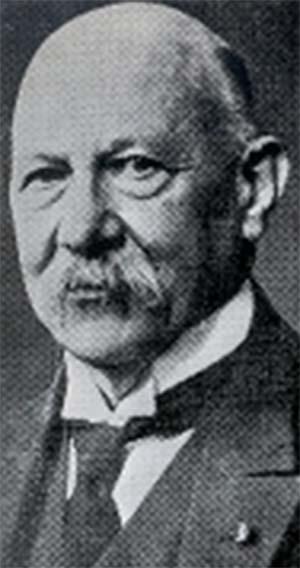 Fig. 2. Heike Kamerlingh Onnes (1853-1926), premio Nobel de física en 1913 por sus estudios sobre superconductividad
