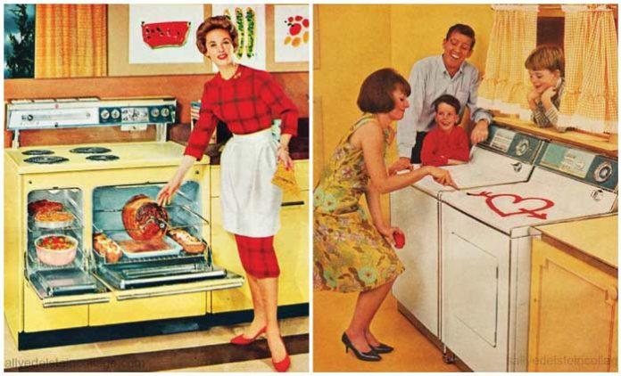 Aparatos domésticos y liberación femenina