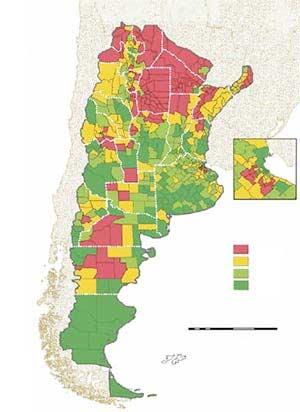 Geografía y calidad de vida en la Argentina
