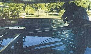 Prototipo de detector Cherenkov instalado en el Laboratorio Tandar