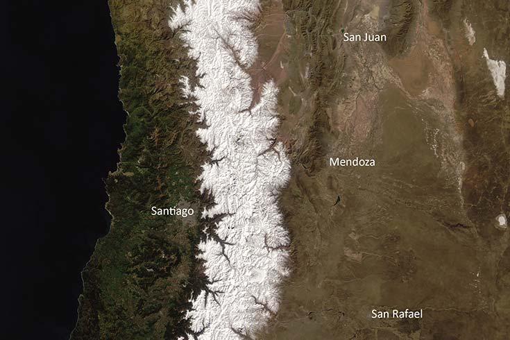 Cambio climático y recursos hídricos. El caso de las tierras secas del oeste argentino