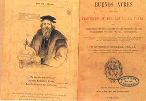 Portada de la segunda edición ampliada de la obra escrita por Woodbine Parish, publicada en Londres, 1852.