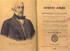 Portada del primer tomo de la primera edición castellana del manual de Parish, traducido por Justo Maeso, en 1852. La traducción del segundo tomo fue editada en 1854 con un Apéndice actualizado con datos del Registro estadístico del Estado de Buenos Aires, dirigido por Maeso.