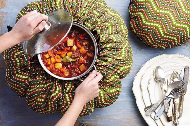 Dispositivo llamado Wonderbag, creado en Sudáfrica para ahorrar energía al cocinar. Foto wonderbagsweden.se