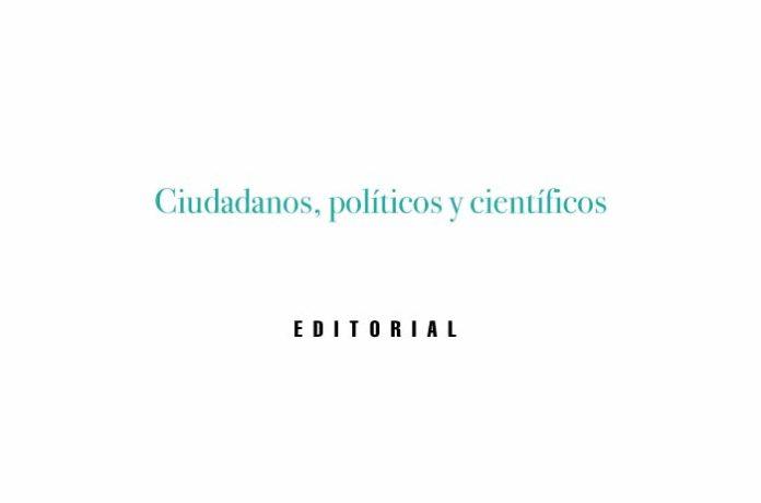 Ciudadanos, políticos y científicos