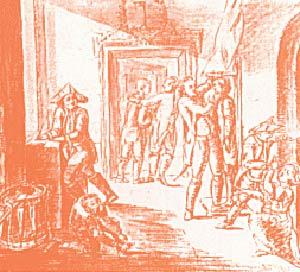 J.W.Goethe 1779 Determinación de la altura de reclutas