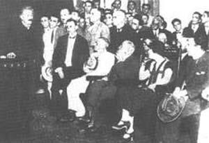 Conferencia de Einstein en la Escuela Politécnica
