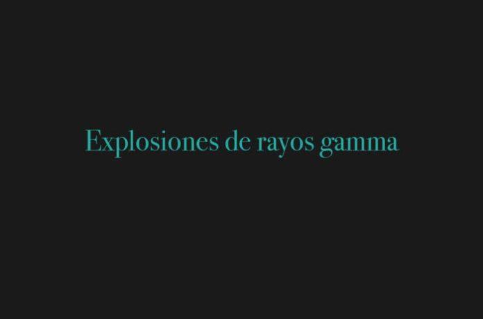 Explosiones de rayos gamma