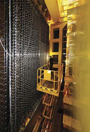 Parte del detector LHCb en CERN. Foto Tighef / Wikimedia CommonsParte del detector LHCb en CERN. Foto Tighef / Wikimedia Commons'