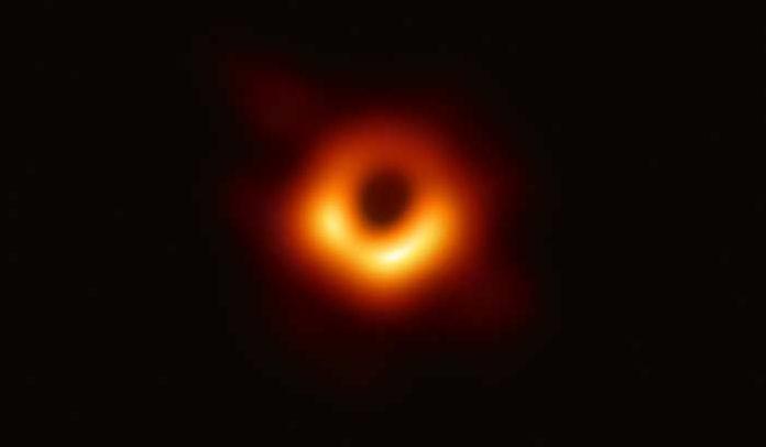 'Fotografía' de un agujero negro