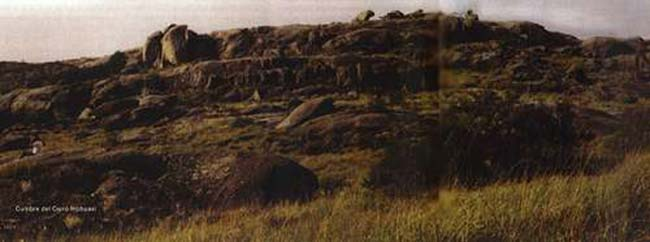 Cumbre del Cerro Intihuasi