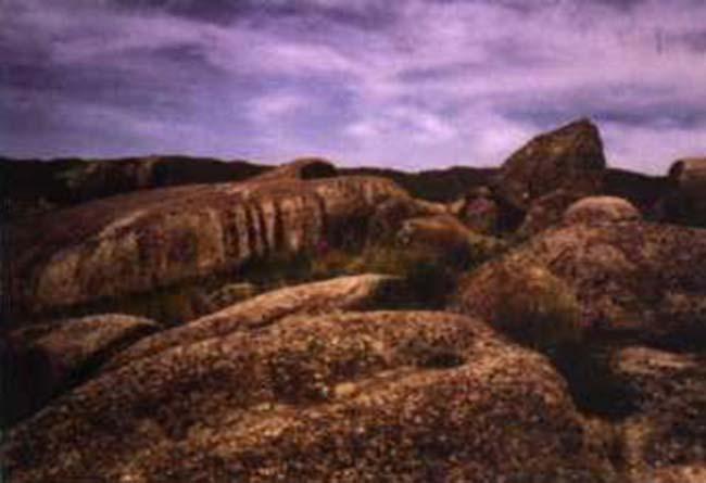 Paisaje del Cerro Intihuasi
