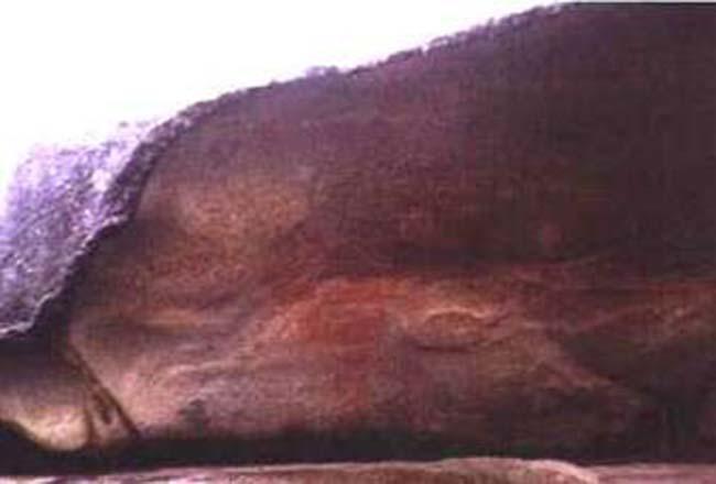 Arte Indígena en el Cerro Intihuasi