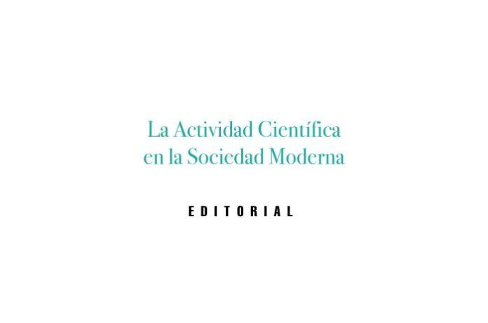 La Actividad Científica en la Sociedad Moderna