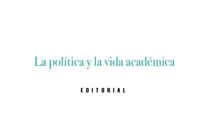 La política y la vida académica