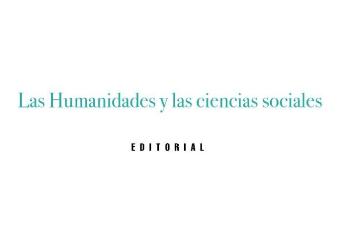 Las Humanidades y las ciencias sociales