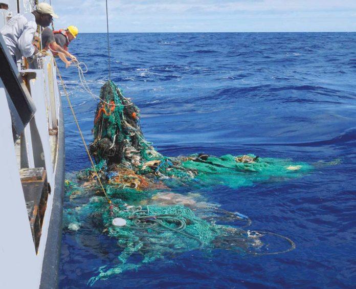 Un mar de plástico
