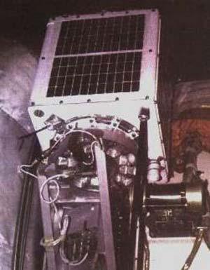 Fig 3 m SAT listo para el lanzamiento coma carga auxiliar en el cohete MOLNYA.