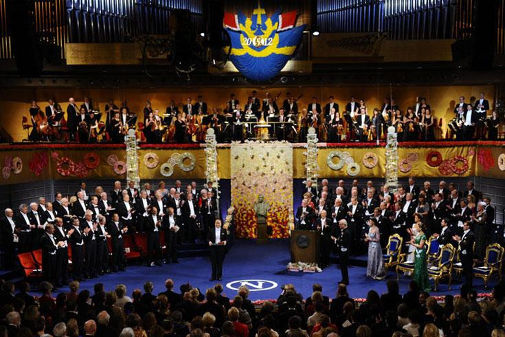 Los premios Nobel 2013