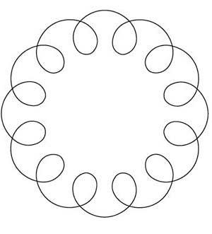 La órbita de la Luna alrededor del Sol