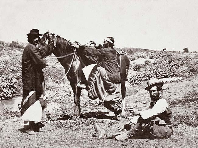 Esteban Gonnet (atribuida), La doma, ca. 1865. Biblioteca Nacional de Venezuela