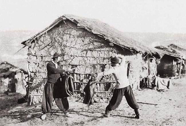 Samuel Rimathé, Duelo a cuchillo, ca. 1895. Colección César Gotta