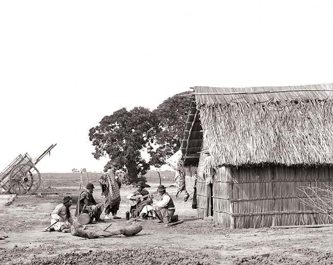 Francisco Ayerza (SFAdeA), Payando, ca. 1890. Colección César Gotta