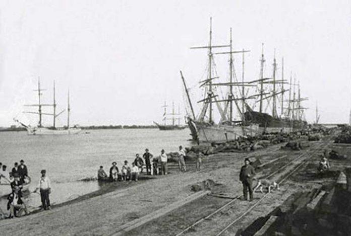 El pasado en imágenes, Los puertos de otrora