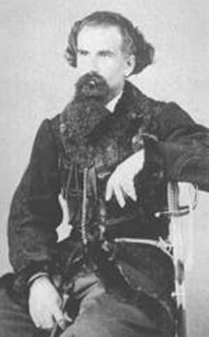 Lucio V. Mansilla CA 1868 Foto de Federico Artigue. Col Prudencio Martínez Zuviría
