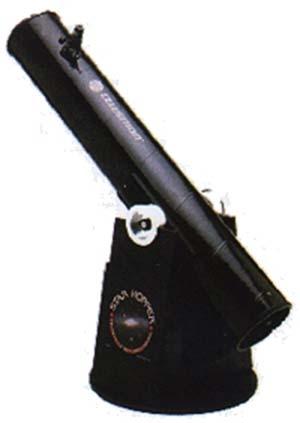 Reflector newtoniano con montura dobsoniana.