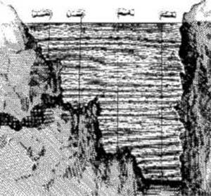Burnet intentó calcular la cantidad de agua del océano por el método de sondear, clásico en la época.