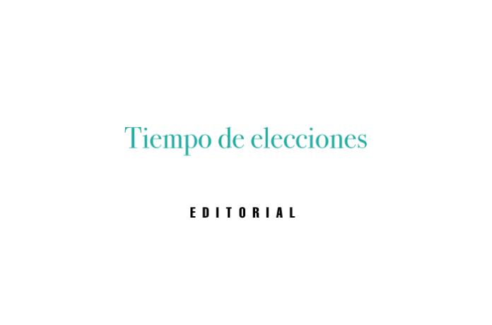 Tiempo de elecciones