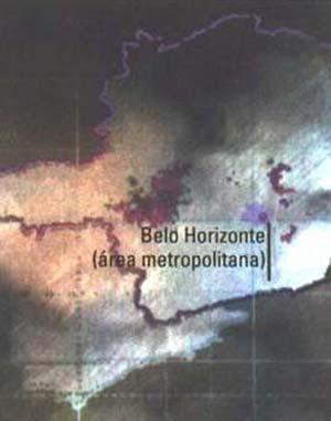 Fig 12. Los relámpagos positivos registrados durante la tormenta del 13 de maro de 1993 se distribuyeron pòr grandes áreas de Minas Gerais (los colores indican diferentes instantes de tiempo).